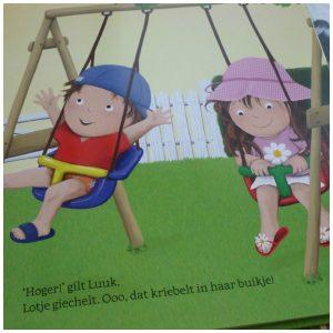 Luuk en Lotje Het is zomer! Ruth Wielockx prentenboek peuterboekje peuterproof tweeling Clavis recensie review