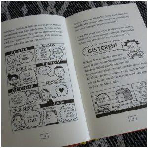 Niek de Groot 8 Niek de groot slaat toe Lincoln Peirce De Fontein Zelf Lezen Graphic Novel recensie review