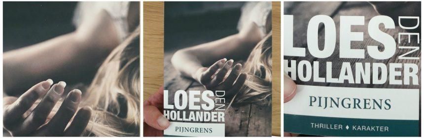 Pijngrens Loes den Hollander Karakter Uitgevers verleden vliegtuigramp heden gevoelens emoties spannend thriller plot gebeurtenissen recensie review