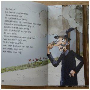 Poef! Bianca Nederlof De Vier Windstreken Leren Lezen AVI M3 niveau heks tekeningen verhaal recensie review