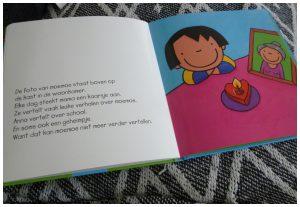 Anna's moemoe is dood Kathleen Amant prentenboek Clavis peuter kleine kinderen overlijden recensie review