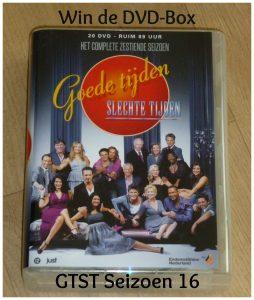 DVD Goede Tijden Slechte Tijden Seizoen 16 GTST 20 discs 215 afleveringen 89 uur Just Entertainment 2005 2006 recensie review winactie winnen