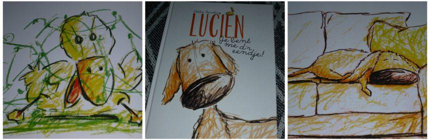 Lucien Je bent me d'r eendje! Debbie Hesseling BBNC Uitgeverij Flamingo prentenboek rijm aandoenlijk held recensie review