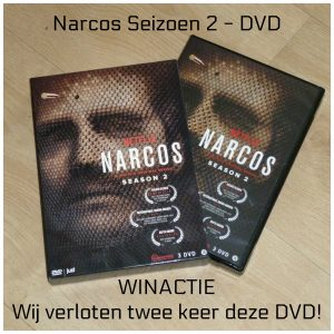 Narcos Seizoen 2 DVD Blu-Ray Just Entertainment Netflix serie Pablo Escobar drugsbaron gebaseerd waargebeurd verhaal geschiedenis Facebook recensie review winactie