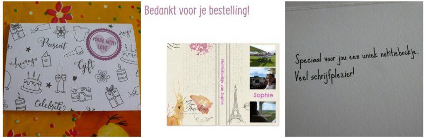 YourSurprise.nl personaliseren cadeau kado gepersonaliseerd back-to-school agenda foto naam notitieboekje Eifeltoren lay-out recensie review