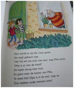 Opa's griezelige gasten Vivian den Hollander AVI M4 Van Holkema & Warendorf Leren Lezen Saskia Halfmouw recensie review winactie