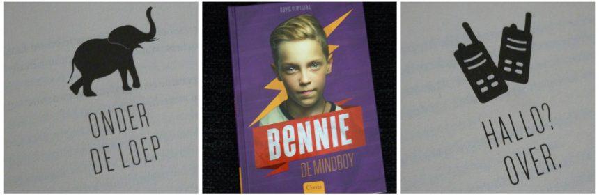 Bennie de Mindboy David Vlietstra Clavis fantasie superkracht superhelden gave leesboek tieners onderwerp herkenbaar recensie review