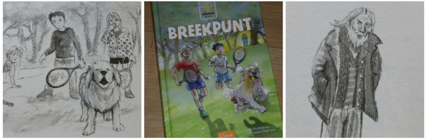 Grand Slam Breekpunt Rick Meijer Zelf Lezen serie reeks tennis Clavis vrienden wedstrijden hond verdwijning spanning humor recensie review