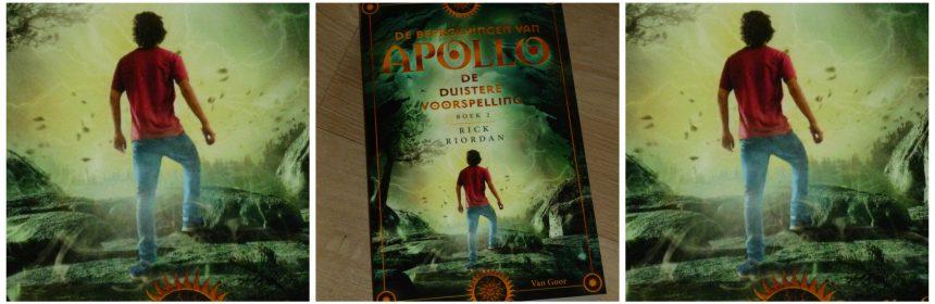 De beproeving van Apollo 2 De duistere voorspelling Rick Riordan Young Adult Unieboek Spectrum tweede deel reeks orakel recensie review