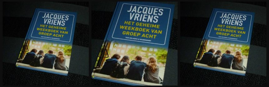 Het geheime weekboek van groep acht Jacques Vriens Van Holkema & Warendorf Zelf Lezen basisschool laatste jaar dagboek vrienden klas jeugd leerkrachten ouders gebeurtenissen school recensie review