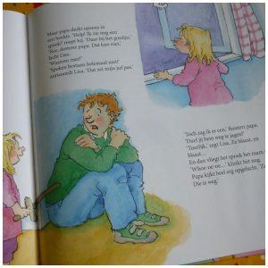 Lekker nooit niet bang! Vivian den Hollander Van Holkema & Warendorf Kinderboekenweek Gruwelijk Eng voorlezen prenten herkenbaar alledaagse dingen Lisa en Jimmy recensie review