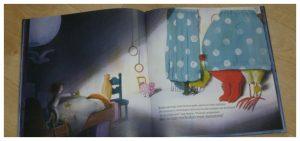 Monster Moe Marieke van Ditshuizen prentenboek Clavis Kinderboekenweek Gruwelijk Eng bedtijd recensie review