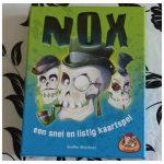 Nox Kaartspel White Goblin Games 8+ tactisch punten doodshoofd schedel kleuren recensie review