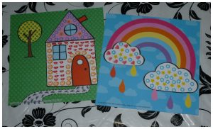 SES Stempelen met stiften SES Creative knutselen kleuren tekeningen kleurplaat knutselset 3+ peuters kleuters recensie review