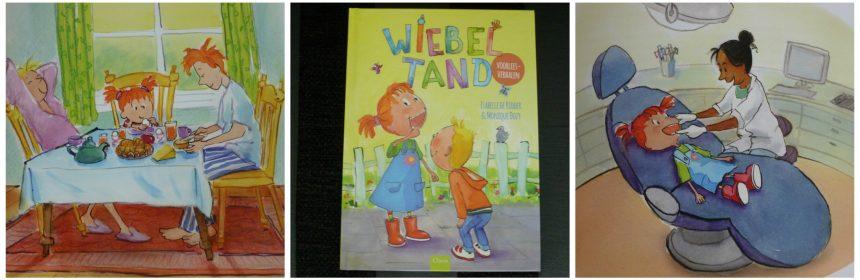 Wiebeltand Isabelle de Ridder Monique Dozy Voorleesboek Clavis voorleesverhalen prenten tekeningen sfeervol doelgroep onderwerpen Pleuntje en Joep recensie review