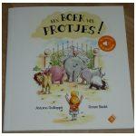 Een boek vol protjes! Antoine Guilloppé Ronan Badel prentenboek met geluid Su Books scheetjes scheten winderigheid geluiden batterijen niet vervangbaar recensie review