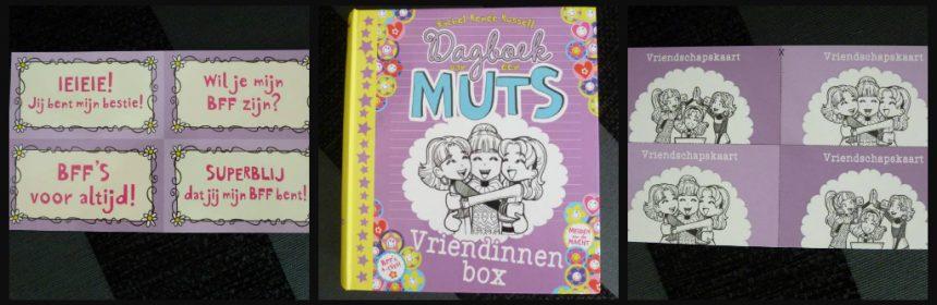 Dagboek van een Muts Vriendinnenbox BFF armbandjes vriendschapsbandjes Kumihimo schijf stickervellen pocketeditie deel 2 Zoek 't lekker uit cadeaubox dagboek recensie review