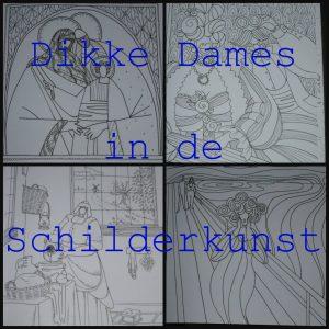 Dikke Dames In De Schilderkunst Kleurboek Recensie
