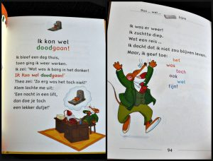Ik ben geen topmuis Makkelijk Lezen AVI E3 Leren Lezen Geronimo Stilton De Wakkere Muis feestartikelen slingers knutselen lezen is een feestje heldhaftiger angstmuis schoolbibliotheek thuis letterformaat leesbaarheid avontuur recensie review