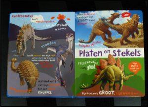 Ik hou van dino's Roger Priddy prentenboek kartonboek Unieboek Het Spectrum dinosaurussen dieren vleeseters planteneters wereld reuzen tekening dino afbeeldingen kleuren succes recensie review