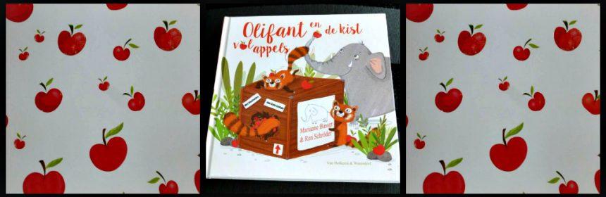 Olifant en de kist vol appels Marianne Busser Ron Schröder prentenboek Van Holkema & Warendorf dierentuin eerlijk delen boodschap recensie review