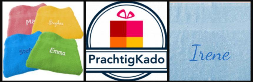 Handdoek met Naam PrachtigKado.nl Handdoek met naam PrachtigKado cadeau presentje kado Sinterklaas Kerst verhuizen op kamers gaan ontwerpen persoonlijk kleuren tekst naam recensie review
