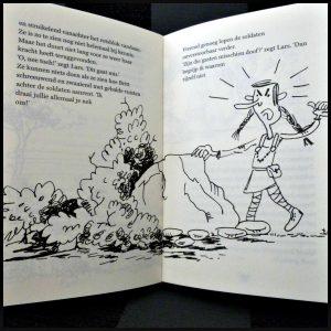 Siggi en de Vikingen De steen van Eileen Elisabeth Mollema Siggi en de Vikingen 2 boekenreeks los lezen uitgeverij Moon graphic novel tekeningen avontuur grappig spanning recensie review