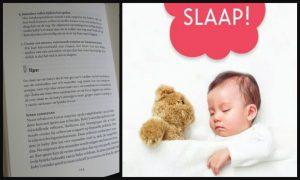 Slaap! Hoe je baby van 0 – 12 maanden doorslaapt Suzanne Willekes opvoeding slapen slaapritueel laten huilen voeding ruimte Unieboek Spectrum recensie review