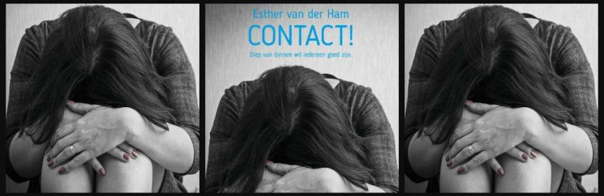 Contact! Esther van der Ham psychologische roman Droomvallei uitgeverij controle! debuutroman vervolg afzonderlijk te lezen gevangenis prachtboeken verleden detentie tweede kans recensie review