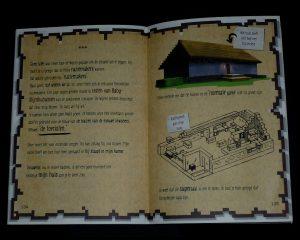 Dagboek van een noob krijger Minus Cube Kid van Holkema & Warendorf graphic novel Het leven van een loser minecraft spel serie boekenreeks bouwwerken plaatjes prenten tekeningen recensie review