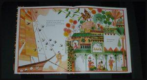 Dromen van de Orient Enzo Pérès-Labourdette prentenboek Leopold dromen waarmaken geloven tentoonstelling gemeentemuseum Den Haag Art Deco Paris Koning van de mode Paul Poiret kleurrijk boodschap kinderen volwassenen kunstprentenboeken recensie review