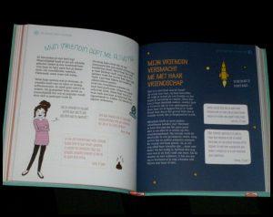 For Girls Only! Alles wat meisjes willen weten Séverine Clochard jeugd Su Books puberteit meiden school verliefdheid familie vriendschap vragen antwoorden testjes veranderingen onzekerheden recensie review