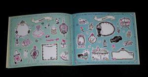 Jill Stickerboekje Jill Schirnhofer stickers plakken plaatjes tekeningen pimpen DIY-knutsels etiketten schoolspullen kleinigheidje fan recensie review