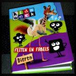 Kidsweek Feiten en Fabels Dieren Van Holkema & Warendorf dieren beesten informatie quiz pocketboekje dierentekeningen recensie review