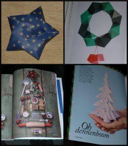 PaperCloud Christmas papercloudmagazine #papercloud kerstballen DIY menukaarten kerstkaarten kleuren puzzelen zoekplaatjes origami 3D boek activiteiten jong en oud cadeaudoosjes inpakpapier kerst tijdschrift recensie review