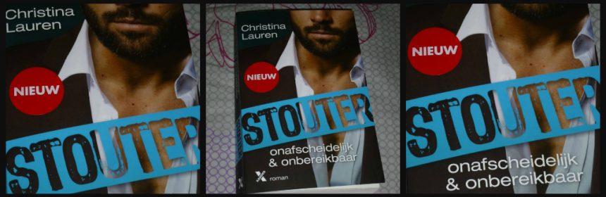 Stouter 6 Onafscheidelijk & Onbereikbaar Christina Lauren Romans Xander Uitgevers recensie review Stouter reeks serie delen
