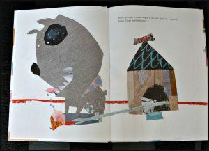 Tijger Barbara de Wolf prentenboek huisdier De Vier Windstreken honden eigenschappen afbeeldingen prenten uitklappagina's verrassingen uniek nieuwsgierigheid bijzonder recensie review