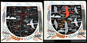 EtchArt Wonderwoud Dinara Mirtalipova Hobby krasplaten Uitgeverij Lannoo prenten tekeningen zwarte achtergrond krassen pennetje fantasie resultaat recensie review