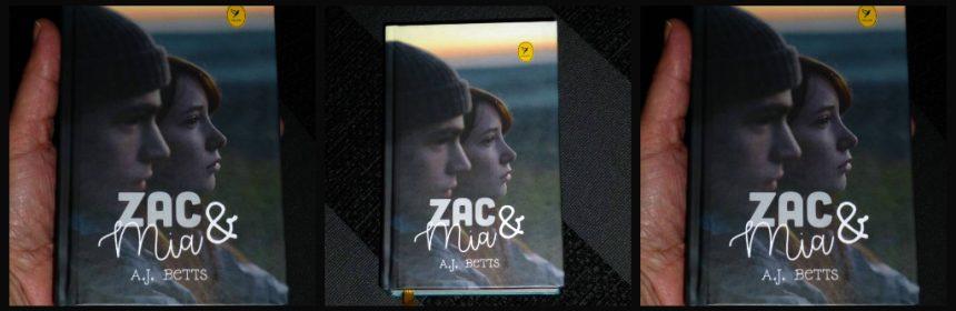 Zac & Mia A. J. Betts Young Adult ziekte kanker Colibri boeken vriendschap BBNC recensie review
