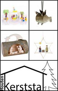 Houten Kerststal www.houtenkerststal.nl kerst accessoires knutselpakketten hangers Kerststal waxinelichtje houder boomstam sfeermaker Kerst natuurproduct cadeau recensie review