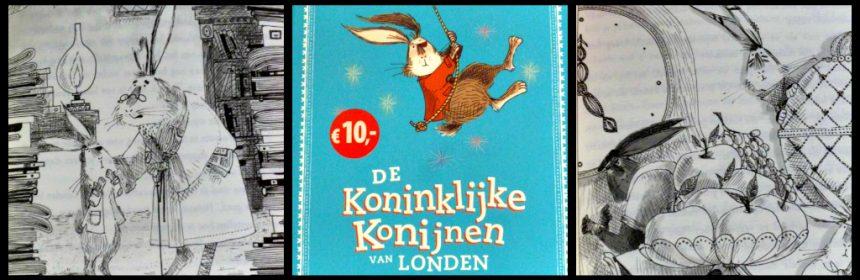 De Koninklijke Konijnen van Londen Santa Montefiore Simon Sebag Montefiore kinderboek Van holkema & warendorf recensie review anders zijn uniek heldendaden
