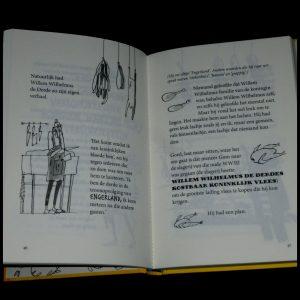 De verschrikkelijke meneer Gom heeft een plan Andy Stanton Zelf Lezen Lannoo graphic novel tekeningen speelse vormgeving personages bizar ongeloofwaardig humor spannend woordgrapjes recensie review