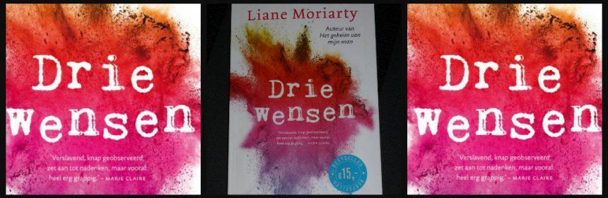 Drie wensen Liane Moriarty roman chicklit AW Bruna verhalen drieling zussen personages ruzie lachen karakter plot voorspelbaar chaotische start recensie review