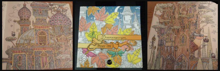 Dromenvanger Tomislav Tomic kleurboek kleuren voor volwassenen details BBNC MUS Creatief mythische wezens ridders kastelen prinsessen hobby wegdromen recensie review