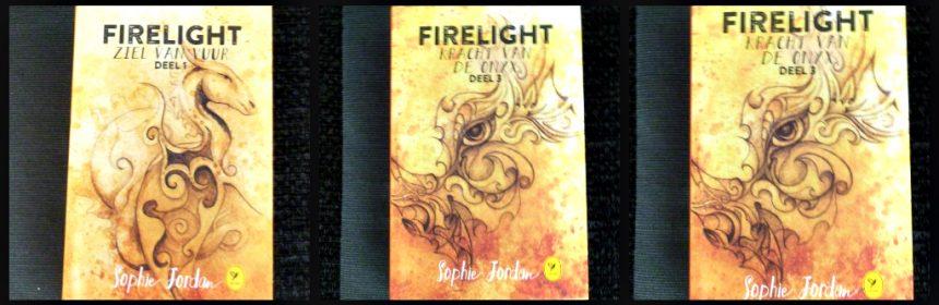 Firelight 3 Kracht van de onyx Sophie Jordan trilogie fantasy draki kolonie mensen wereld boekenreeks Colibri Boeken Achter de nevel Ziel van vuur recensie review