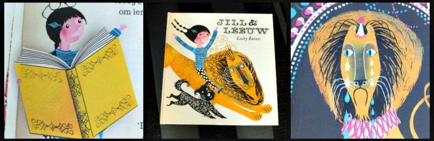 Jill en Leeuw Jill en Draak Lesley Barnes prentenboek avontuur spannend Flamingo kinderboeken BBNC verhaal dieren redden hond recensie review