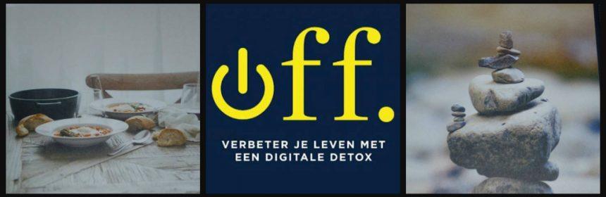 Off Verbeter je leven met een digitale detox ZW Bruna Tanya Goodin discipline oplossingen telefoon smartphone recensie review