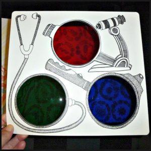 Wat schuilt er onder mijn huid? Aina Bestard prentenboek Clavis kleuters 5+ symbolen toverlenzen poster prenten tekeningen kinderen lichaam ontdekken menselijk lichaam recensie review