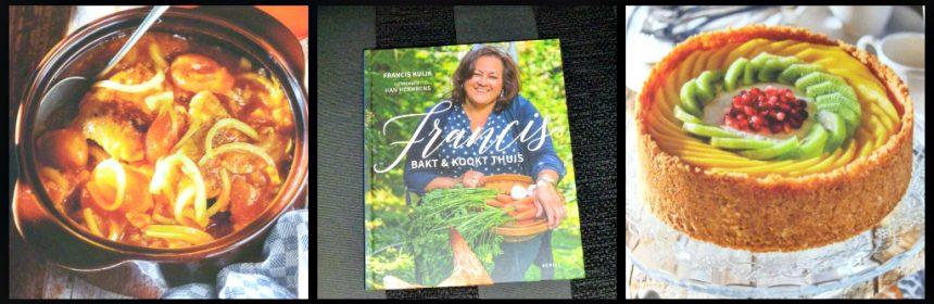 Francis bakt en kookt thuis Francis Kuijk Aerial Media Company kookboek Australië down under Aussie tips koken bakken keuken Indische gerechten enthousiasme recensie review