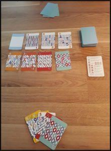 Mezza Card Game Engelse spelbeschrijving Nederlandse versie online spannend leuk strategisch spelen kaarten aflegstapel tegenstanders shithead hand kaarten wegleggen winnen winnaar speelkaarten recensie review